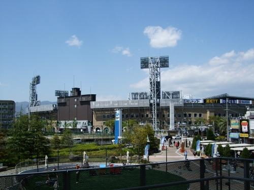 やっぱり大きい甲子園球場