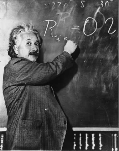 アインシュタイン白黒