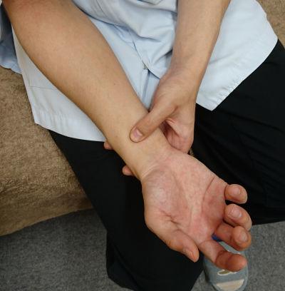 筋腱鍼の説明