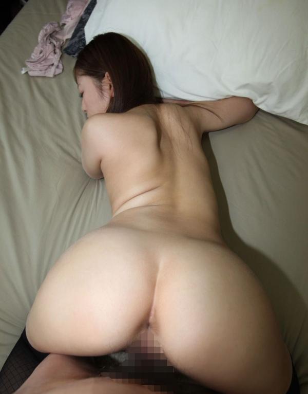 人妻のバックハメ撮り画像-72