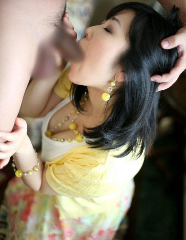 美熟女のフェラチオ画像-95
