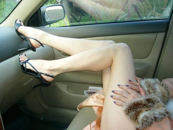 美脚のエロ画像-25