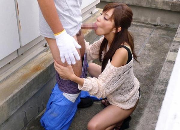 口腔性交のエロ画像-9