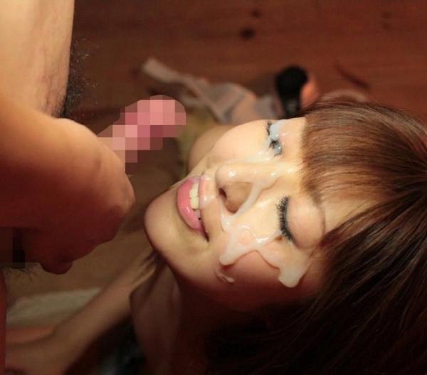 顔面射精の画像-4