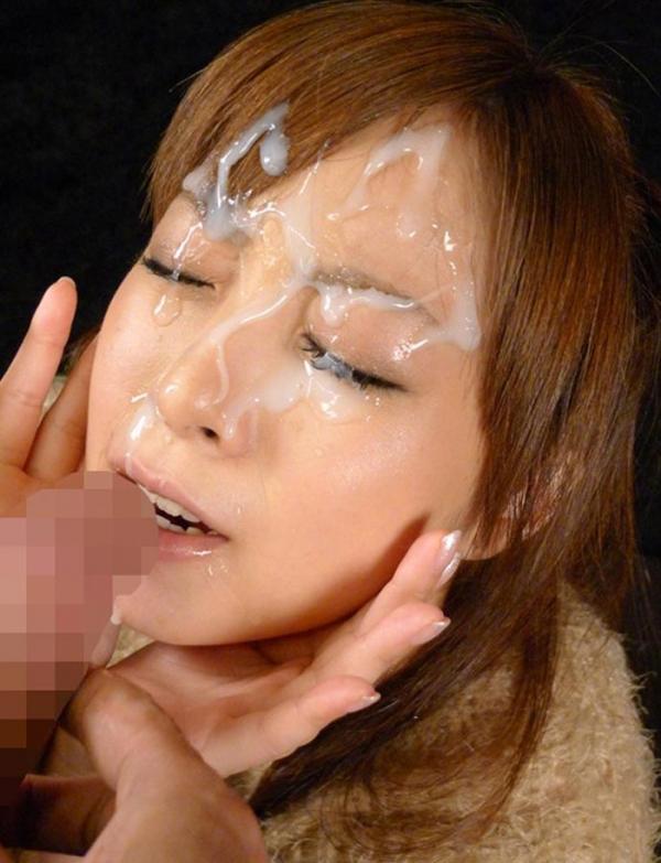顔面射精の画像-31