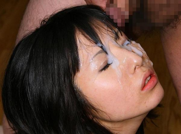 顔射のぶっ掛け画像-36