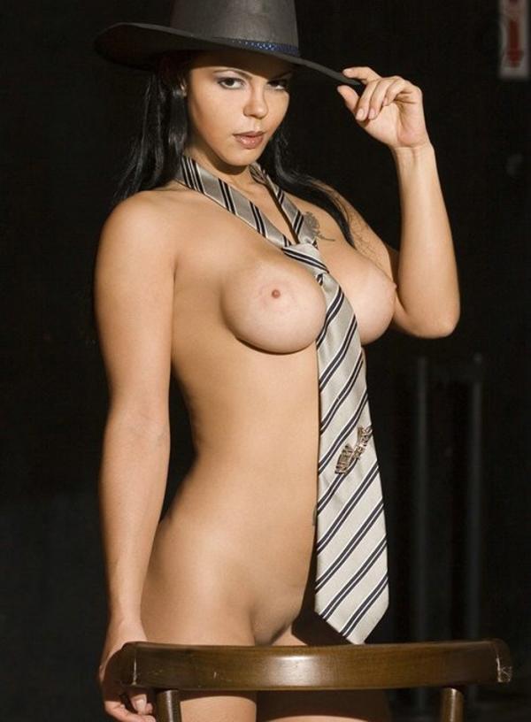 彼女のネクタイ裸画像-51