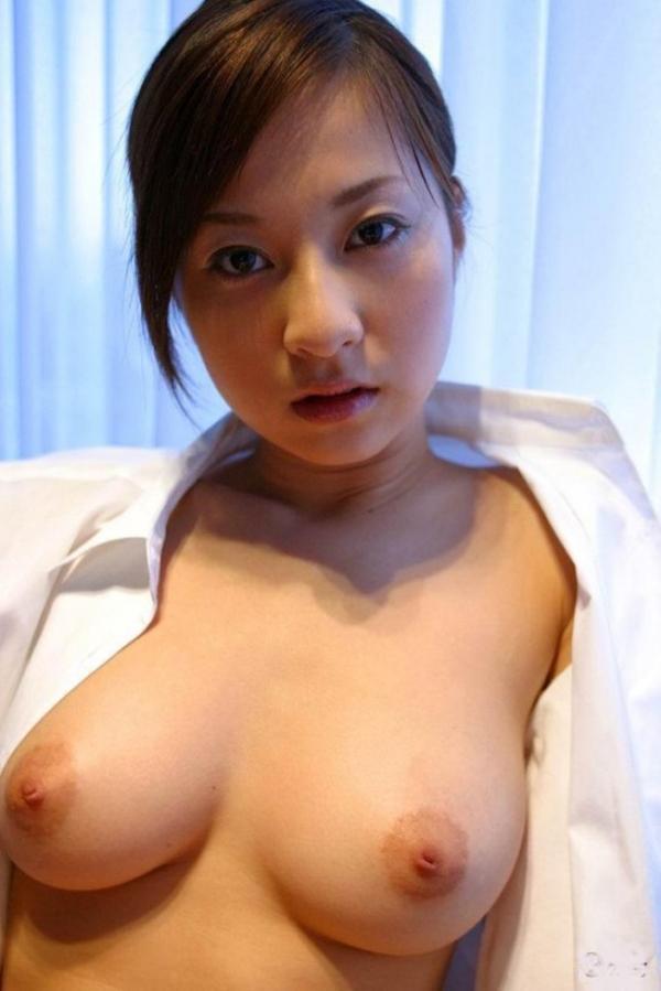 裸シャツの彼女画像-5