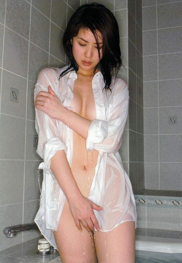 裸シャツの彼女画像-28