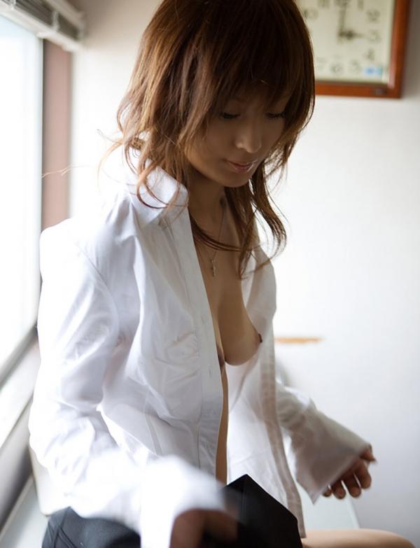 裸シャツの彼女画像-33