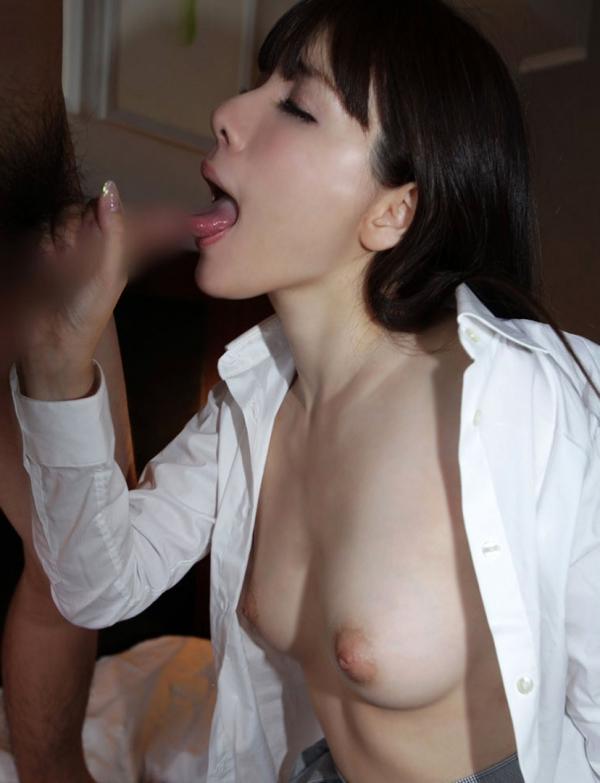 裸シャツの彼女画像-53