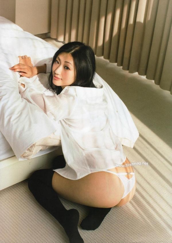 裸シャツの彼女画像-62