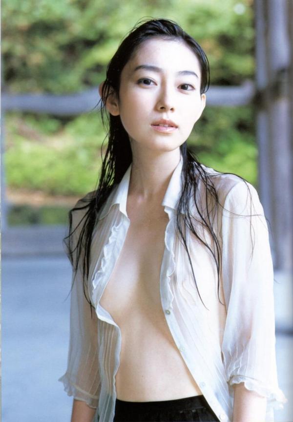 裸シャツの彼女画像-69