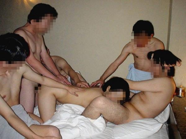 人妻・乱交セックス画像-16