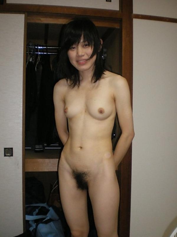 腹筋女子のヌード画像-8