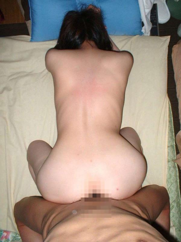 不倫妻のハメ撮り画像-43