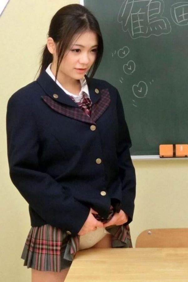 女学生の角オナニー画像-24