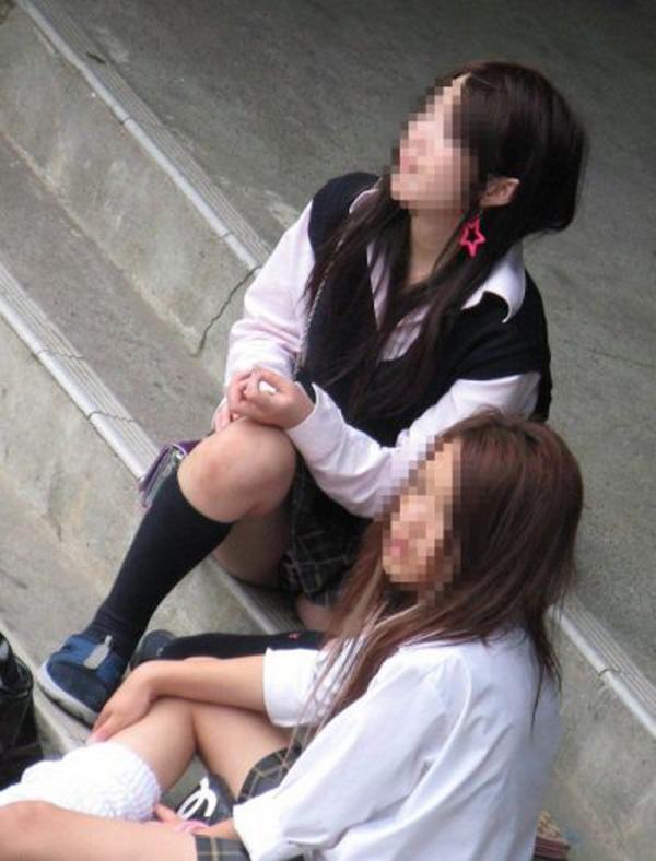 女生徒のパンチラ画像-66
