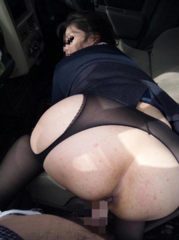美熟女の後背位セックス画像-20