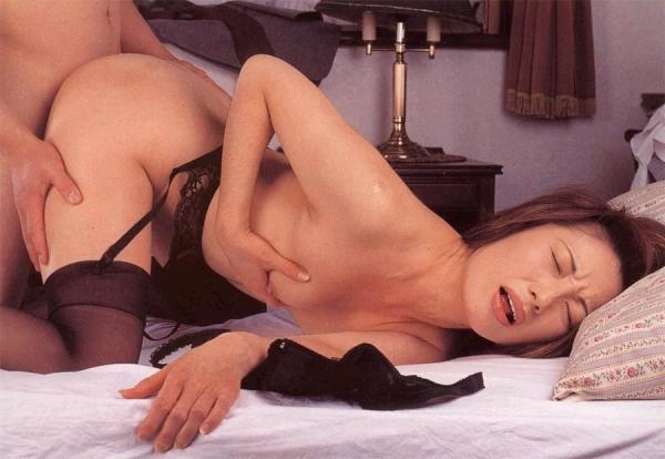 美熟女の後背位セックス画像-77