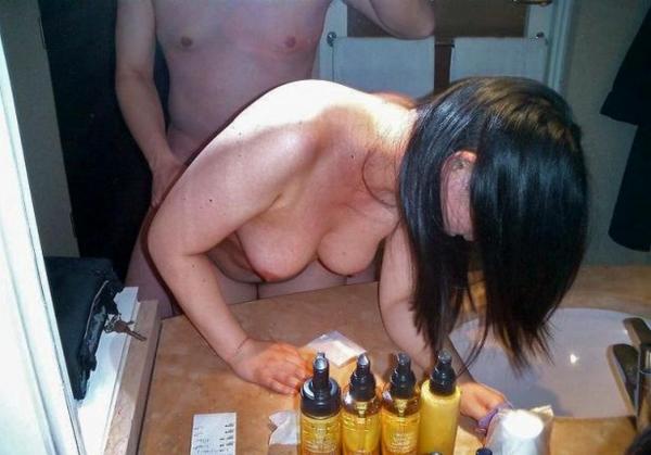美熟女の後背位セックス画像-95