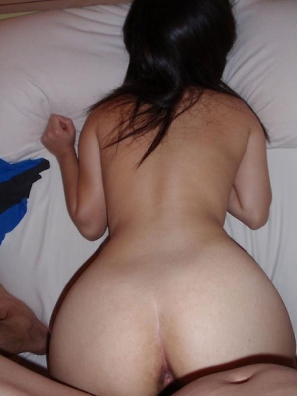 熟女の後背位セックス画像-8