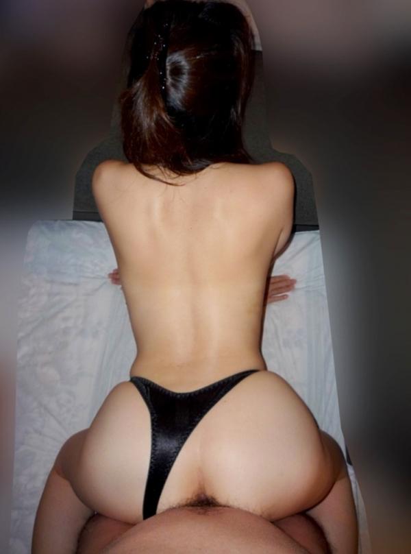 熟女の後背位セックス画像-14
