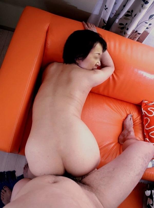 熟女の後背位セックス画像-22
