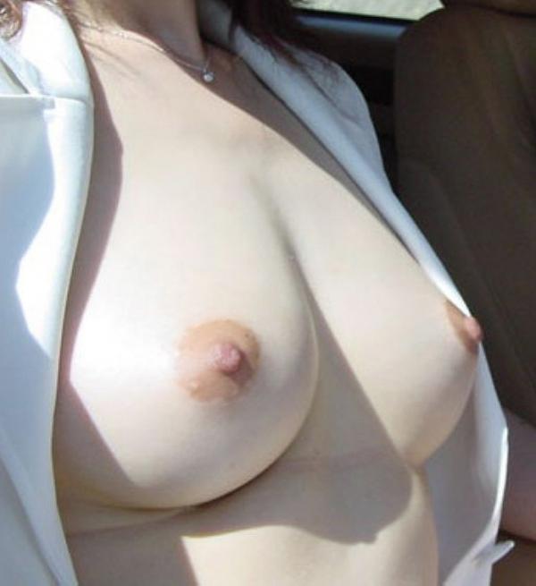 熟女妻の巨乳画像-3