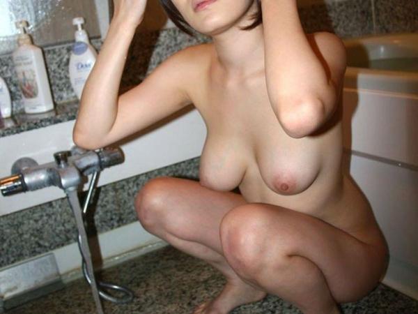 熟女妻の巨乳画像-25