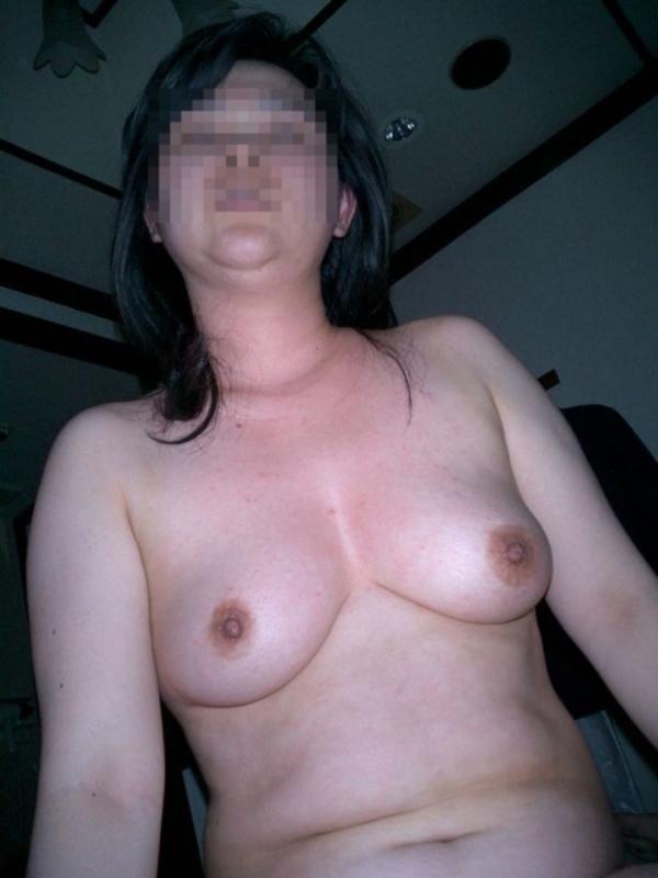 熟女妻の巨乳画像-39