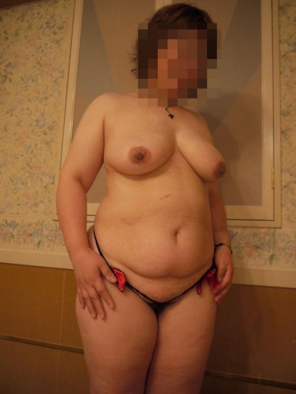 熟女妻の巨乳画像-42