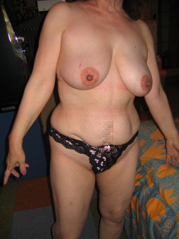 熟女妻の巨乳画像-62