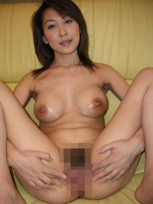 熟女妻のヌード画像-44