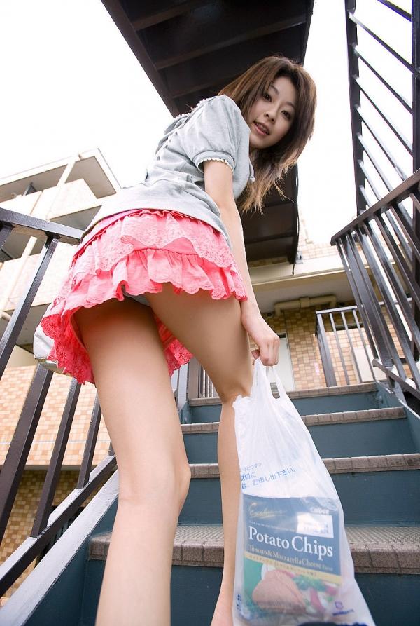 階段パンチラの画像-52
