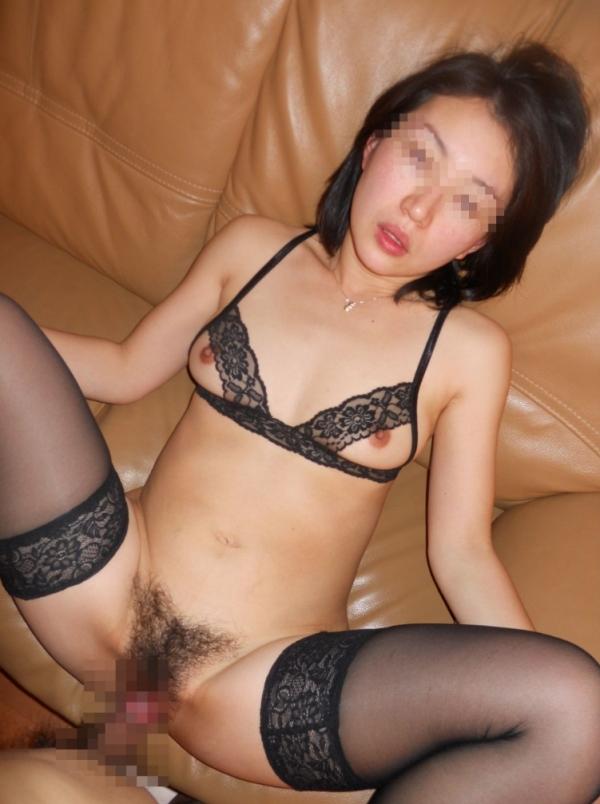 金持ちマダムのハメ撮りセックス画像-38