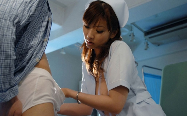 看護婦のフェラチオ画像-14
