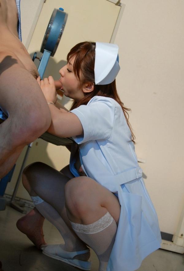 看護婦のフェラチオ画像-25