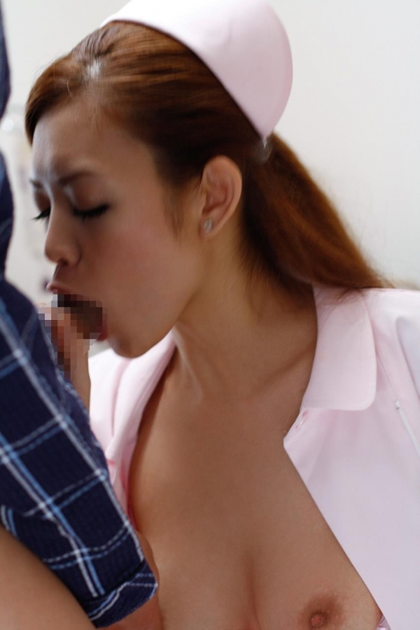 看護婦のフェラチオ画像-41
