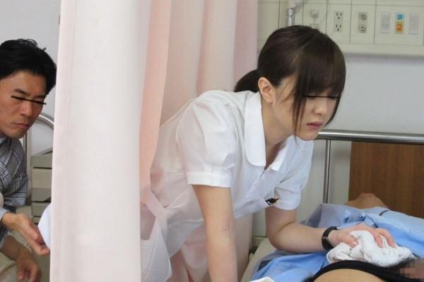 看護婦の手淫画像-2