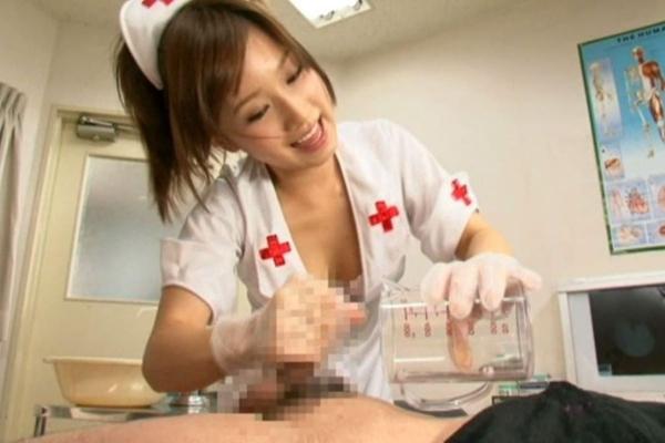 看護婦の手淫画像-18