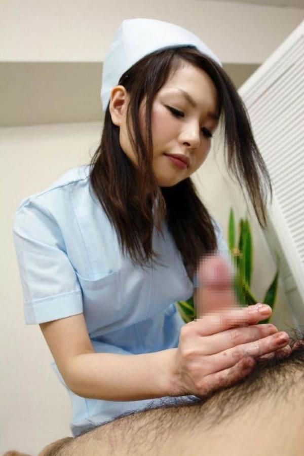 看護婦の手淫画像-21