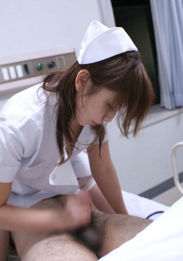 看護婦の手淫画像-27