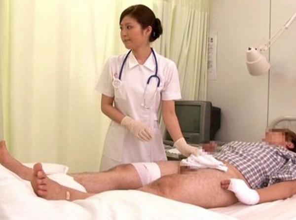 看護婦の手淫画像-42