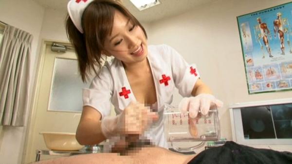 看護婦の手淫画像-43