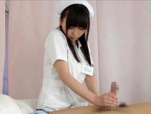 看護婦の手淫画像-61