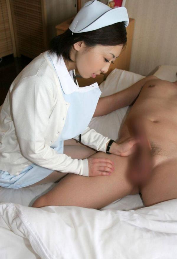 看護婦の手淫画像-65