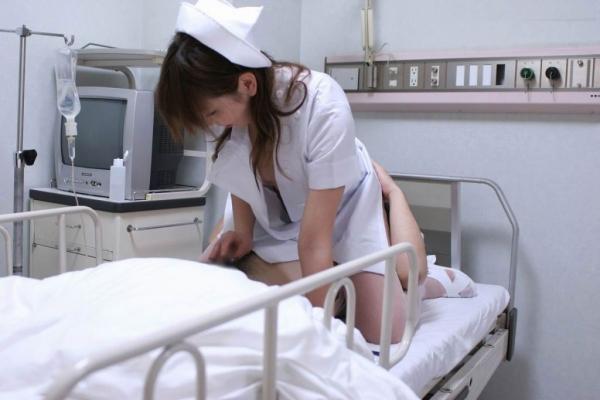 看護婦の手淫画像-66