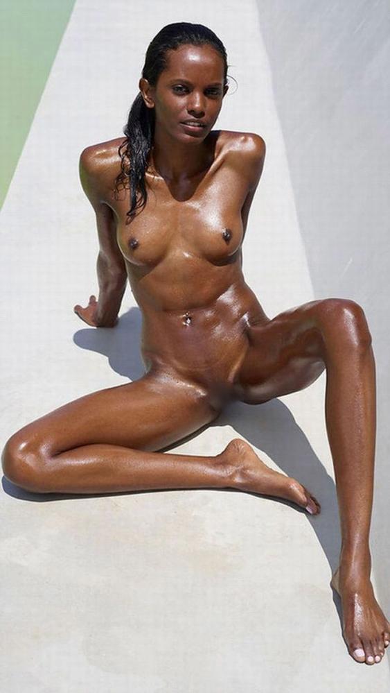 黒人の女性ボディビルダーエロ画像-27