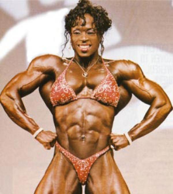 黒人の女性ボディビルダーエロ画像-48